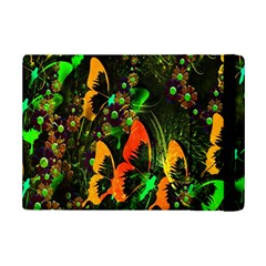 Butterfly Abstract Flowers iPad Mini 2 Flip Cases