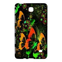 Butterfly Abstract Flowers Samsung Galaxy Tab 4 (7 ) Hardshell Case