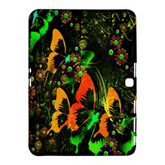 Butterfly Abstract Flowers Samsung Galaxy Tab 4 (10.1 ) Hardshell Case