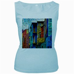 Buenos Aires Travel Women s Baby Blue Tank Top