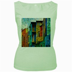 Buenos Aires Travel Women s Green Tank Top