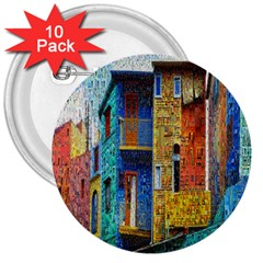 Buenos Aires Travel 3  Buttons (10 pack)