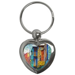 Buenos Aires Travel Key Chains (Heart)