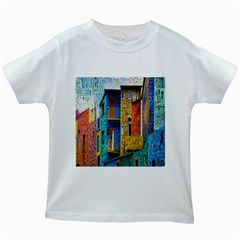 Buenos Aires Travel Kids White T-Shirts