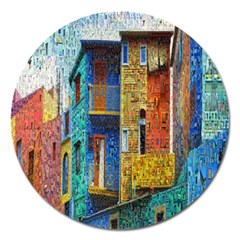 Buenos Aires Travel Magnet 5  (round)