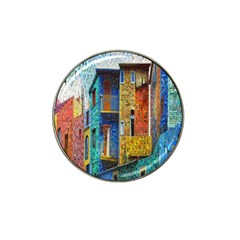 Buenos Aires Travel Hat Clip Ball Marker (4 pack)