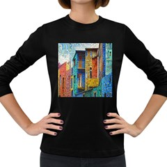 Buenos Aires Travel Women s Long Sleeve Dark T Shirts