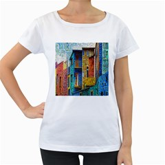 Buenos Aires Travel Women s Loose-Fit T-Shirt (White)