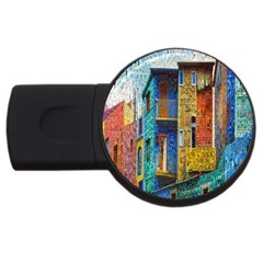 Buenos Aires Travel USB Flash Drive Round (4 GB)