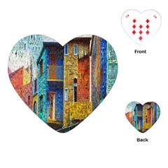 Buenos Aires Travel Playing Cards (Heart)