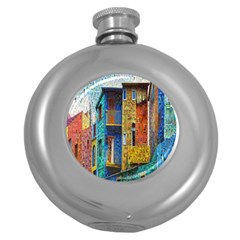 Buenos Aires Travel Round Hip Flask (5 oz)