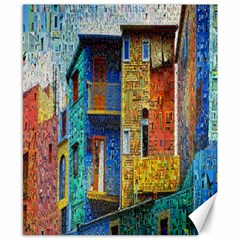 Buenos Aires Travel Canvas 8  x 10
