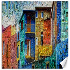 Buenos Aires Travel Canvas 20  x 20