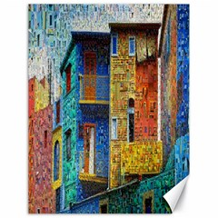 Buenos Aires Travel Canvas 18  x 24