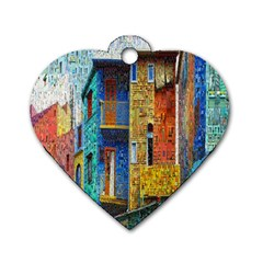 Buenos Aires Travel Dog Tag Heart (One Side)