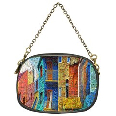 Buenos Aires Travel Chain Purses (One Side)