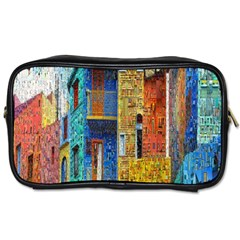 Buenos Aires Travel Toiletries Bags 2 Side