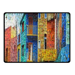 Buenos Aires Travel Fleece Blanket (Small)
