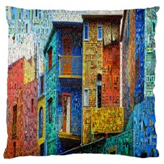 Buenos Aires Travel Large Cushion Case (one Side)