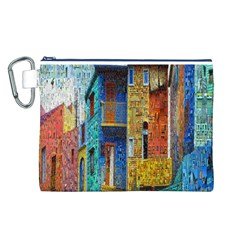 Buenos Aires Travel Canvas Cosmetic Bag (l)