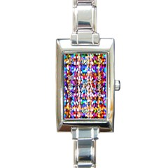 Bokeh Abstract Background Blur Rectangle Italian Charm Watch