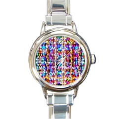 Bokeh Abstract Background Blur Round Italian Charm Watch