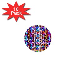 Bokeh Abstract Background Blur 1  Mini Buttons (10 pack)