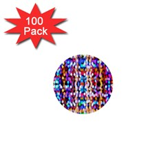 Bokeh Abstract Background Blur 1  Mini Buttons (100 Pack)