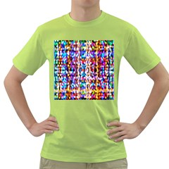 Bokeh Abstract Background Blur Green T-Shirt