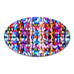 Bokeh Abstract Background Blur Oval Magnet