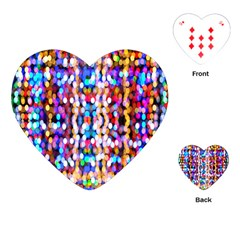 Bokeh Abstract Background Blur Playing Cards (Heart)