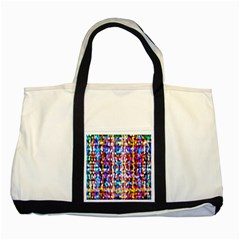 Bokeh Abstract Background Blur Two Tone Tote Bag