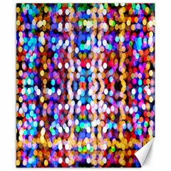 Bokeh Abstract Background Blur Canvas 8  x 10