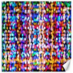 Bokeh Abstract Background Blur Canvas 12  x 12