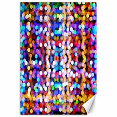 Bokeh Abstract Background Blur Canvas 20  x 30