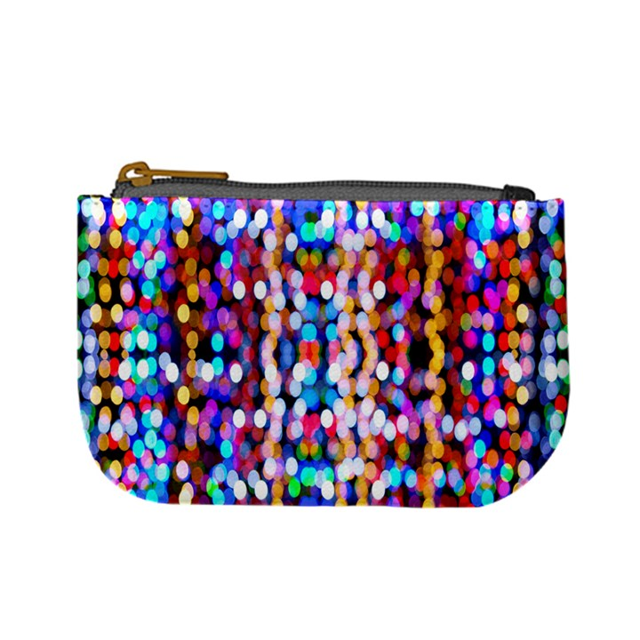Bokeh Abstract Background Blur Mini Coin Purses