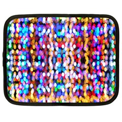 Bokeh Abstract Background Blur Netbook Case (XXL)