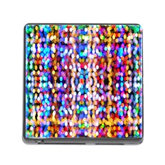 Bokeh Abstract Background Blur Memory Card Reader (square)