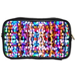 Bokeh Abstract Background Blur Toiletries Bags