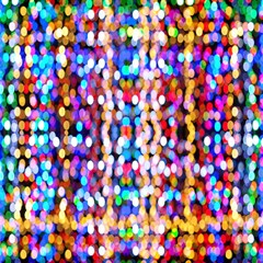 Bokeh Abstract Background Blur Magic Photo Cubes