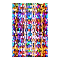 Bokeh Abstract Background Blur Shower Curtain 48  x 72  (Small)