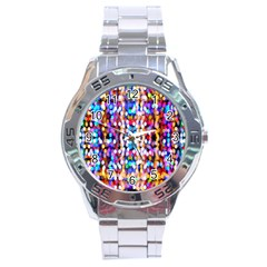 Bokeh Abstract Background Blur Stainless Steel Analogue Watch