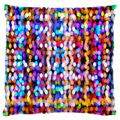 Bokeh Abstract Background Blur Large Cushion Case (Two Sides)