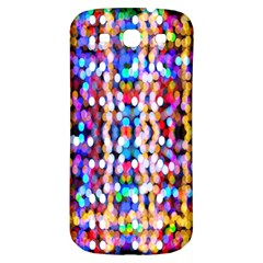 Bokeh Abstract Background Blur Samsung Galaxy S3 S Iii Classic Hardshell Back Case