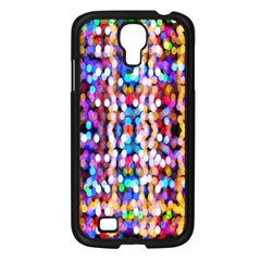 Bokeh Abstract Background Blur Samsung Galaxy S4 I9500/ I9505 Case (Black)