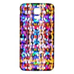 Bokeh Abstract Background Blur Samsung Galaxy S5 Back Case (White)