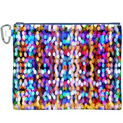 Bokeh Abstract Background Blur Canvas Cosmetic Bag (XXXL)