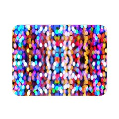 Bokeh Abstract Background Blur Double Sided Flano Blanket (Mini)