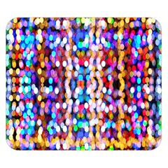 Bokeh Abstract Background Blur Double Sided Flano Blanket (Small)
