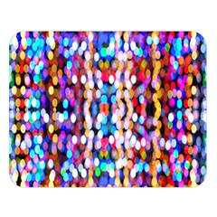 Bokeh Abstract Background Blur Double Sided Flano Blanket (Large)